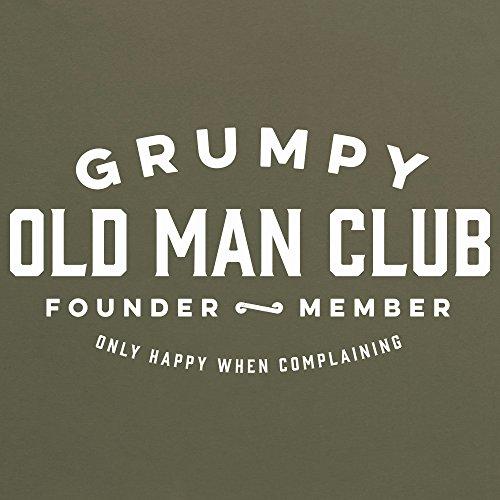 Grumpy Old Man Club T-Shirt, Damen Olivgrn