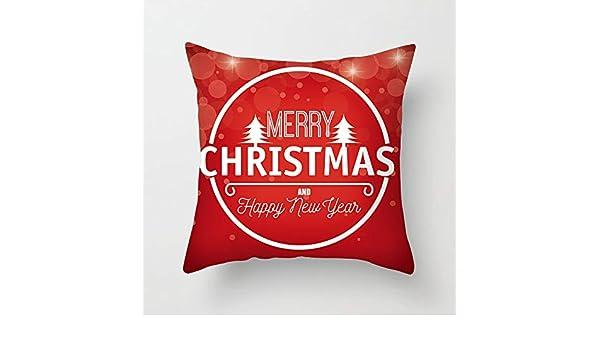 Qishi Christmas Decoration Pillow Case