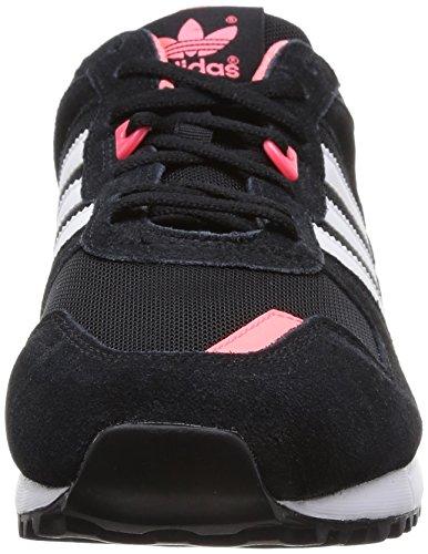 Adidas Zx 700 Scarpe Sportive, Donna Cblack/Ftwwht/Flared