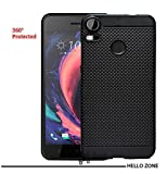 Hello Zone Exclusive Dotted Matte Finish Soft Back Case Cover For HTC Desire 10 Pro