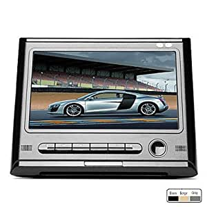 9 zoll auto halterung kopfst tze dvd player black amazon. Black Bedroom Furniture Sets. Home Design Ideas