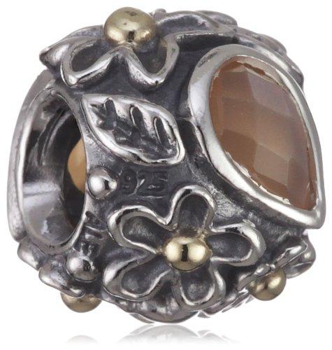 Pandora charm da donna in argento con 14k oro 790540mso