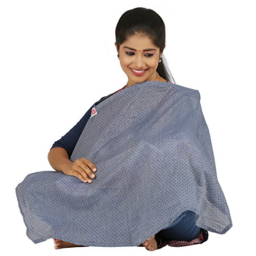 brotherbaby feeding apron/nursing cover/feeding cloak/maternity cover(chambray)