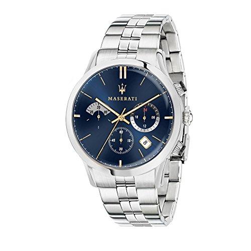 MASERATI Reloj Cronógrafo para Hombre de Cuarzo con Correa en Acero Inoxidable R8873633001