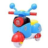 Xiton Buntes Mini-Motorrad Spielt Motorrad-Autos pädagogisches Spielset für Kinderkleinkinder Kindertag-Geschenk (Gelegentliche Farbe) 1PC