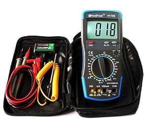 20A CATIII Digital Multimeter HP-760B mit Fehlbedienungssperre und Zubehör