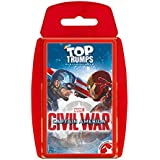Captain America: Civil War Top Trumps Card Game