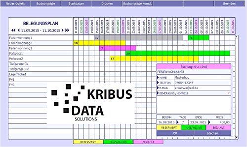 PROF-BP-2.0 Belegungsplan Status Reserviert Anzahlung Bezahlt Betrag Belegungsliste Ferienhäuser Ferienzimmer Ferienwohnungen Fremdenzimmer bis Parkplatz Zimmervermietung Windows MacOS High Sierra - 2