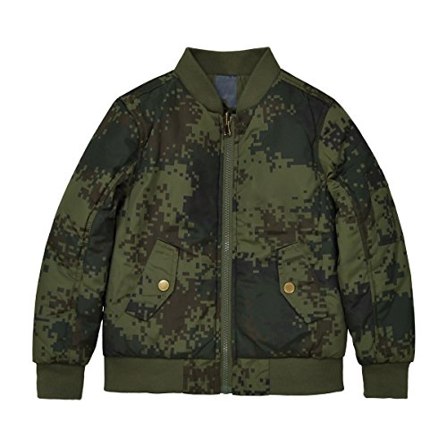 La Redoute Collections Jungen Bomberjacke, Wendbar, 312 Jahre 10 ans 138 cm