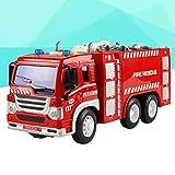 YeahiBaby Feuerwehrauto Spielzeug mit Licht LKW Modell Spielfahrzeuge für Kinder (Fire Sprinkler Truck) Vergleich