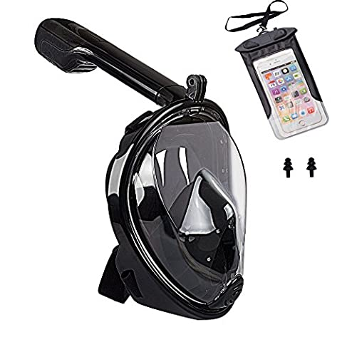 LANIAKEA 180° Full Face Snorkel Mask For Adults And Kids