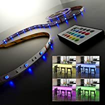 LED Flexband Lucilla für kreative DekobeleuchtungDas farbenfrohe RGB Flexband sorgt mit insgesamt 150 LEDs für ein faszinierendes Lichtspiel. Lucilla eignet sich sowohl für indirektes Farblicht im Wohnraum, als auch zur stimmungsvollen Beleuchtung be...