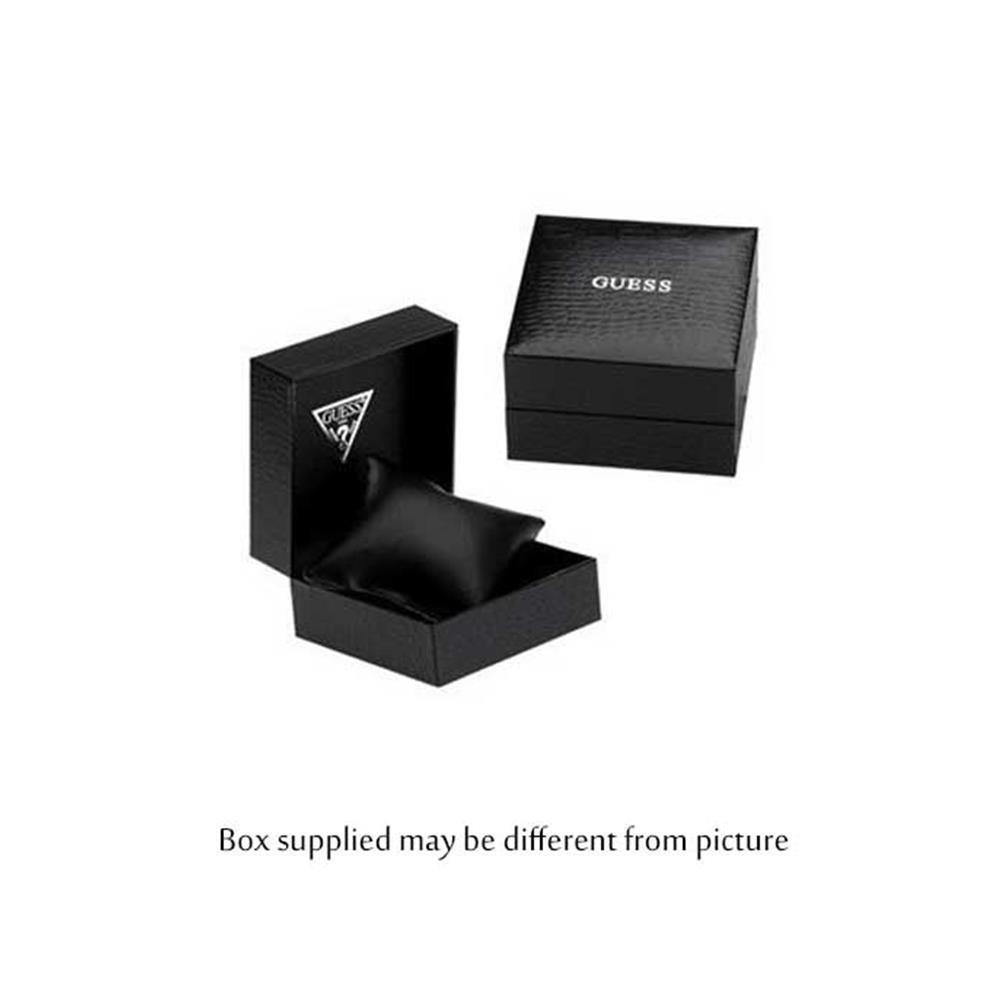 best service 2cbe9 1dbbb Guess Damen Analog Quarz Uhr mit Edelstahl Armband W0933L1
