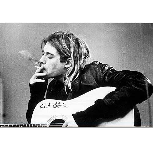 NOVELOVE Imagen Arte Pared Kurt Cobain Nirvana Frontman