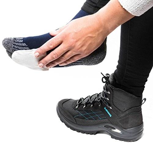 THE HEAT COMPANY Chauffe-Pieds | adhésives | 8 heures de chaleur | pour les pieds chauds | convient pour toutes les chaussures | chauffe orteils | Très Fin | prêt à l'emploi | 100% naturel | 5 paires