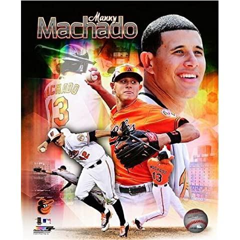 Manny Machado Baltimore Orioles 2013 MLB Composite Photo 8x10 by Photo File