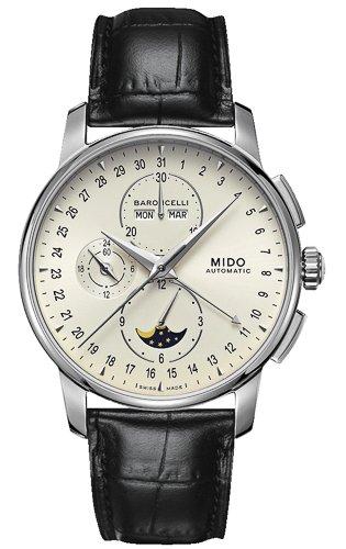 Mido Reloj Multiesfera para Hombre de Automático con Correa en Cuero M8607.4.M1.42