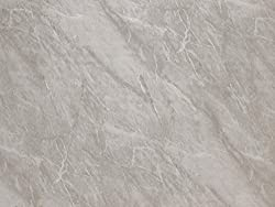 Light Grey Marble 1m x 2.4m Shower Wall Panels Bathroom PVC Cladding Wet Wall By DBS