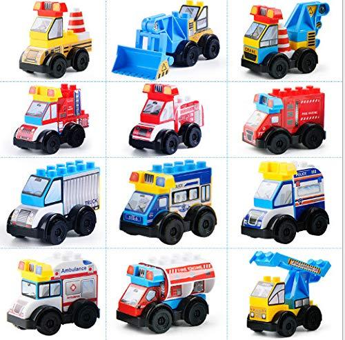 LIUKEQINGE Verdrehtes Ei-Bausteinauto-Spielzeugei des Puzzlespiels der heißen Kinder (Schule Heiß Wirklich Mädchen)