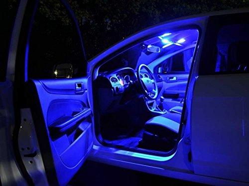 Hyundaii10--PA - BLAU - Innenraumbeleuchtung Set, mit Check Widerstand, Plug & Play Einbau, Innenraum Umrüstsatz von Marke INION®