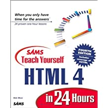 Sams Teach Yourself HTML 4 in 24 Hours