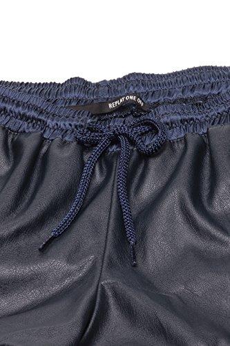 Replay One Off II Damen Shorts DW9008 10075 Schwarz