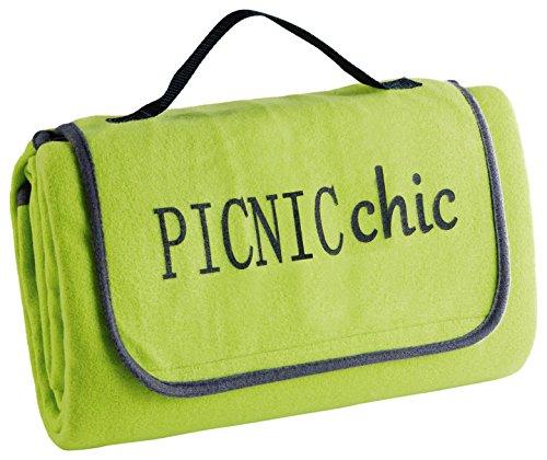 ligne-decor-pic-nic-logo-plus-coperta-da-giardino-peva-bicolore-menthe-antracite-125-x-150-cm