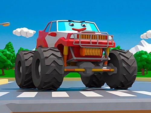 Lustiger Monster Truck (Prime Truck Monster)