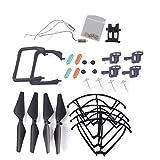 YouCute Kit de piezas de repuesto para Udi U45 Raven U45W Azul Jay U42 U42W U42WH CW4 Azul Jay Raven Rc Quadcopter Drone Negro Lámina Gear Lading Gear Motor Frame Gear (Negro grande)