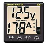 Nasa BM1, Battery Monitor, Controllo batterie, 24VDC, colore: Grigio scuro