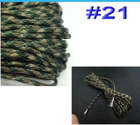 Vosarea Paracord Survival Paracord Sept Cœurs Parapluie Corde Crafting Kit Nylon Militaire Parachute Cord (31 Mètres, Noir)