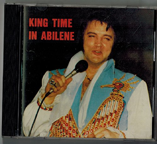 Elvis Presley CD - King Time In Abilene - Live in Abilene, Texas 1977