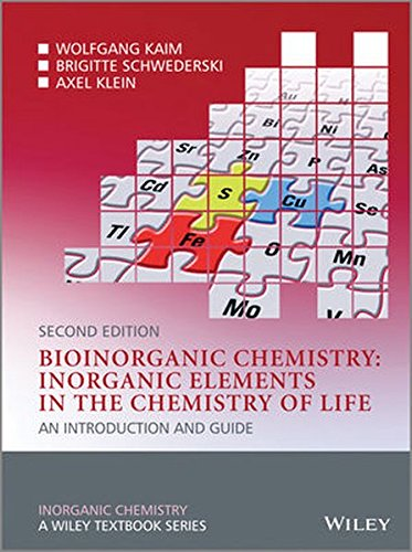 Bioinorganic Chemistry -- Inorganic Elements in the Chemistry of Life: An Introduction and Guide (Inorganic Chemistry: A Textbook Series)