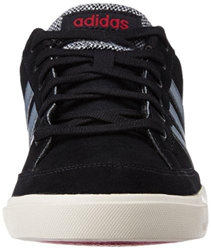adidas Cacity, Chaussures de Sport Homme, Marron Noir (noir essentiel / onyx / rouge Bourgogne collégial)