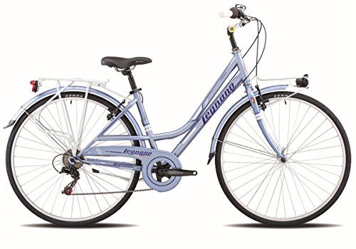 LEGNANO BICICLETA 481 VERSILIA LADY 6 V TALLA 44 CALLEJON (CITY)/BICYCLE 481 VERSILIA LADY 6S SIZE 44 LIGHT BLUE (CITY)