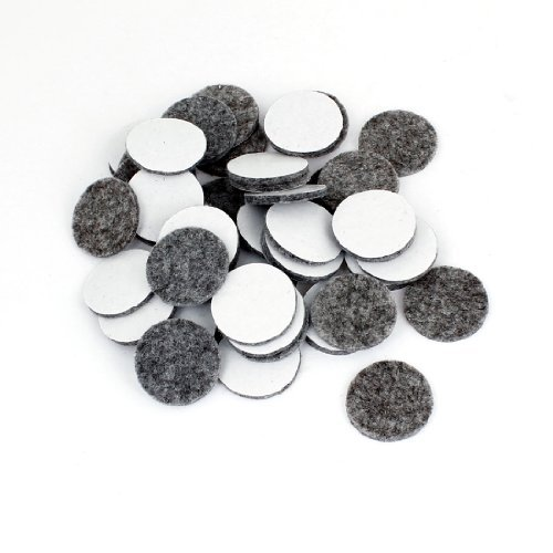 water-wood-50pcs-round-shaped-table-chair-furniture-leg-felt-mat-pad-gray