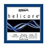 D\'Addario Bowed Corde seule (Ré) pour violoncelle accordé en quartes D\'Addario Helicore, manche 4/4, tension Medium