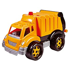 Bino- Vehículo - Camión de Basura, Color Naranja (83215)