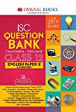 Oswaal ISC Question Bank Class 12 English Papers 2 Literature Chapterwise and Topicwise (For March 2019 Exam)