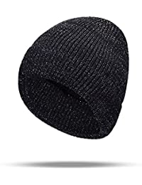 Sombrero de Punto línea de Plata de la Moda de Sombrero de Punto de Las  Mujeres 92bd5fd2852