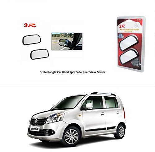 AutoStark 3R Rectangle Car Blind Spot Side Rear View Mirror for Maruti Suzuki Wagon R Duo  available at amazon for Rs.285