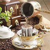 Coffs 50Pcs / Pack Portable Drip Coffee Cup Filtre Sacs suspendus Coupe Filtres à café Outil à thé Home Office Voyage