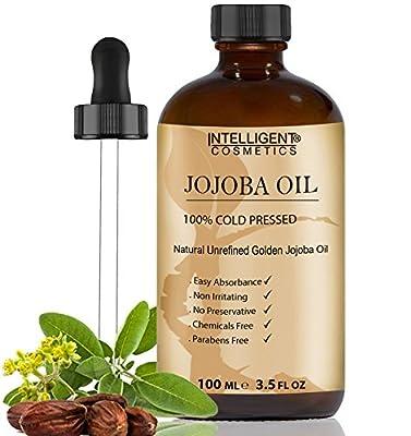 Intelligent Cosmetics 100% Cold Pressed Jojoba Oil, 100ml by Intelligent Cosmetics®