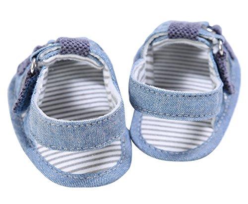 EOZY Baby Jungen Geschlossene Sandalen Outdoor Sommer Lauflernschuhe Blau
