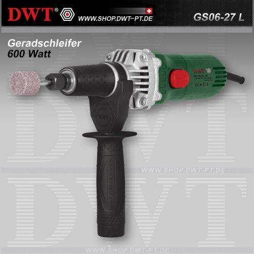 DWT Geradschleifer 600 Watt mit Zubehör - GS06-27 L