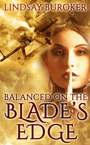 Balanced on the Blade's Edge (Dragon Blood Book 1) (English Edition)