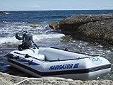 Navigator III Schlauchboot mit Elektromotor