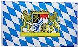 GROSSE Bayern Fahne/Bayrische Flagge/Bayernflagge/Bayernfahne
