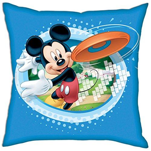 Kissen - Dekokissen - Kopfkissen für Kinder mit Motivauswahl (Mickey Motiv 1)