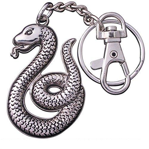 Harry Potter - Metall Schlüsselanhänger - Slytherin - Logo -